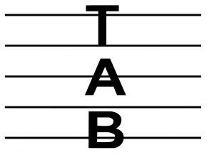 Tab, Tablature Symbol